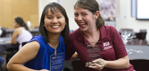 Register for the Student Organization Awards and Recognition ceremony, April 14
