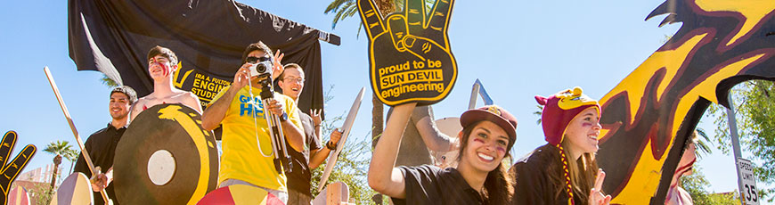 Be a part of the ASU Homecoming Block Party