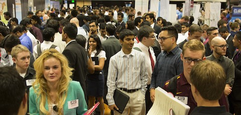 Mark your calendars for the spring career fair, Feb. 17-18