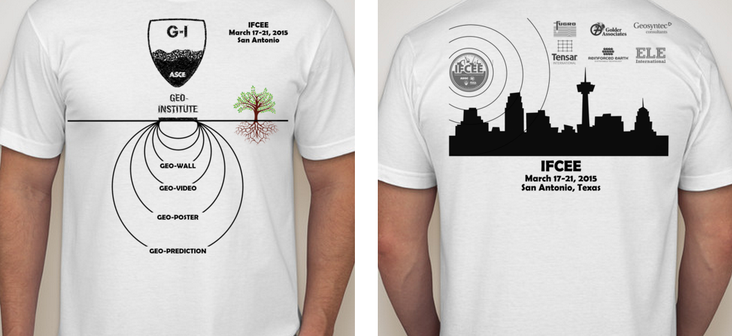 A design created by ASU students was selected for the official t-shirt of the International Foundation Congress and Equipment Exposition.