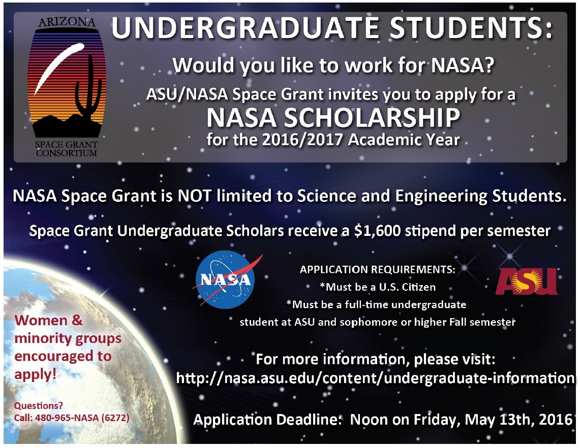 nasa scholarships - photo #2