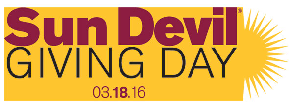 Sun Devil Giving Day March 18, 2016
