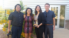 Manny Padilla, Jessy Gonzalez, Briana Del Bianco and Kevin Riley were nominated and recognized for multiple awards.