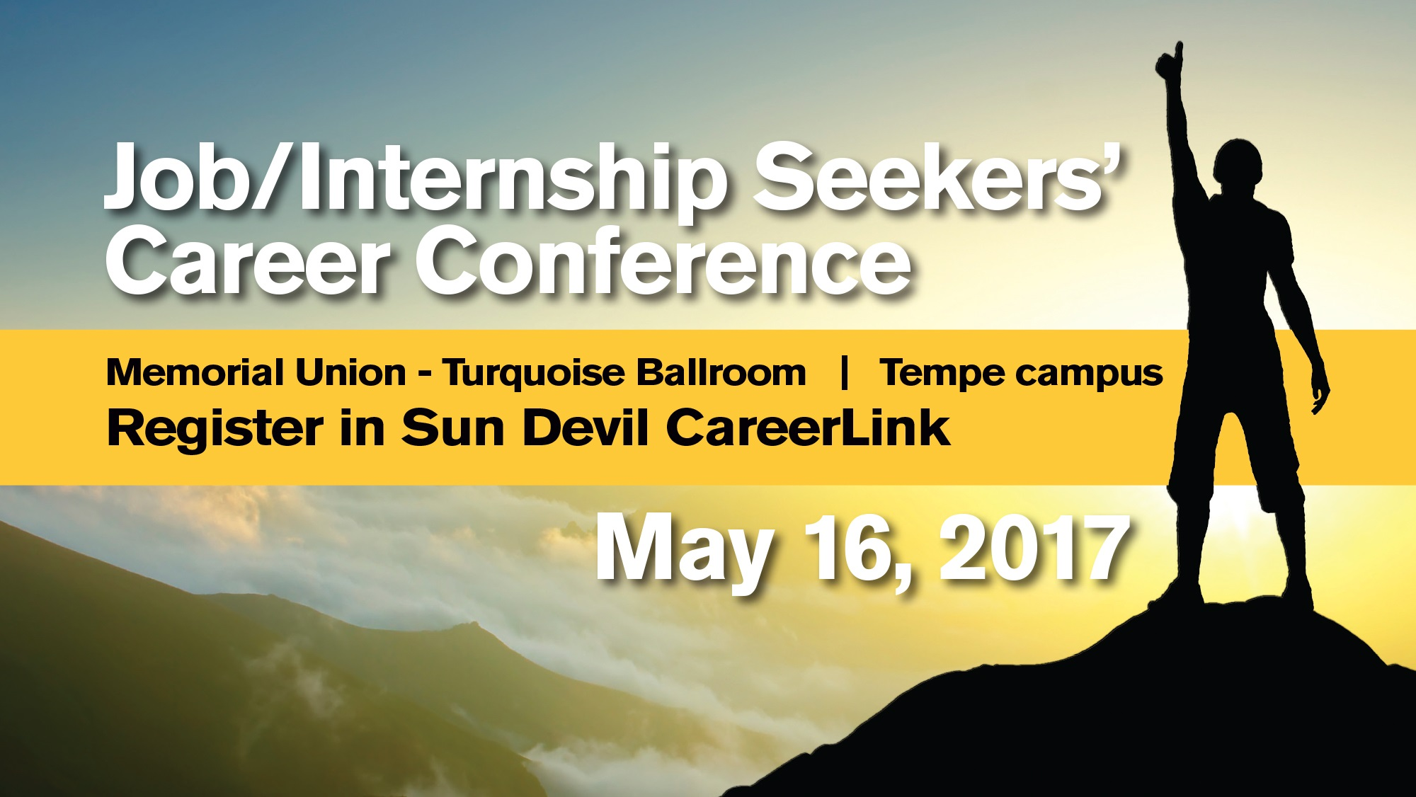 Sign up now for the Job/Internship Seekers' Career Conference, May ...