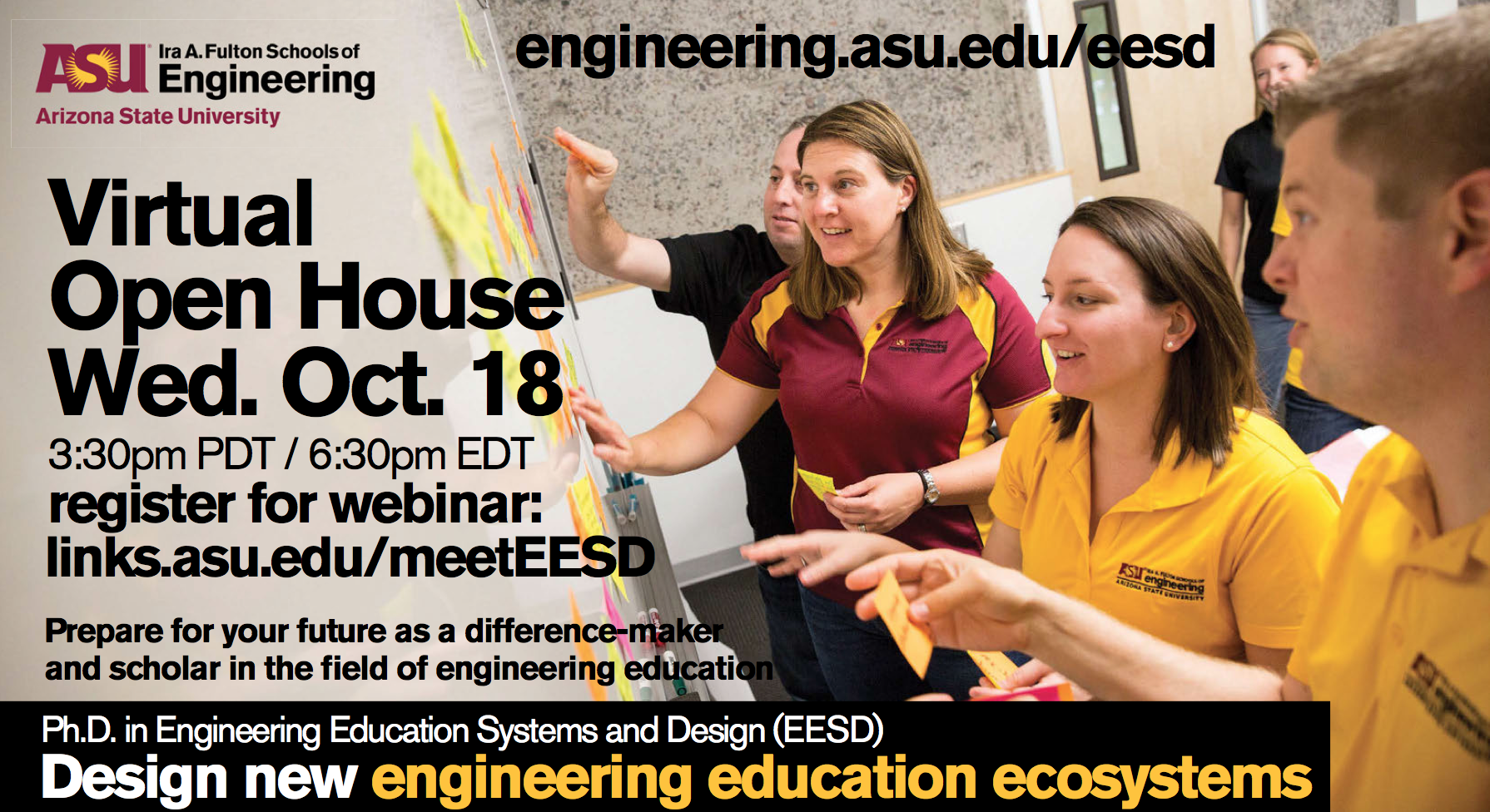 EESD Virtual Open House flier