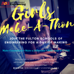 Girls Make-A-Thon flier