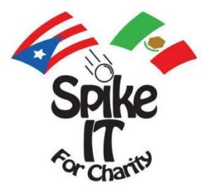 Spike It For Charity logo