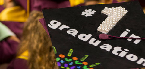Graduates: Decorate your mortarboard to win Fulton Schools swag!