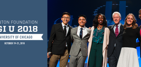 Deadline to apply for Clinton Global Initiative University 2018