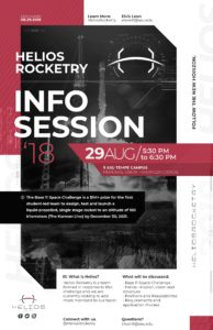 Helios Rocketry Info Session August 29