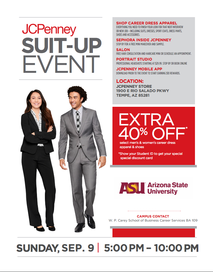 JCPenney Suit Up Flier