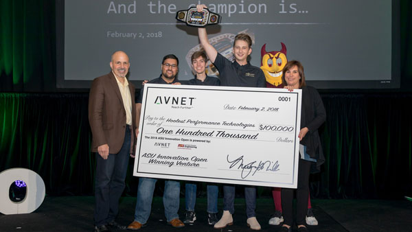 Hoolest wins $100,000 at the ASU Innovation Open.