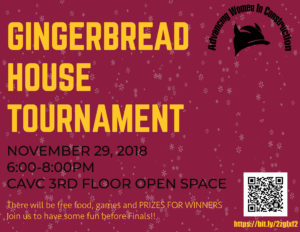 Gingerbread house tournament