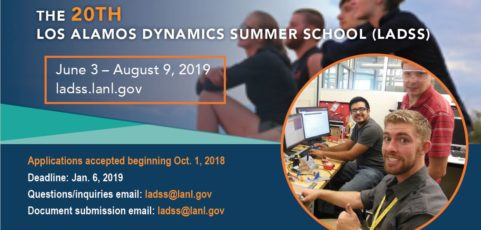 Apply for Los Alamos National Laboratory Summer Research by January 6
