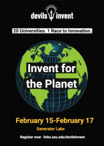 Devils Invent: Invent for the Planet flier