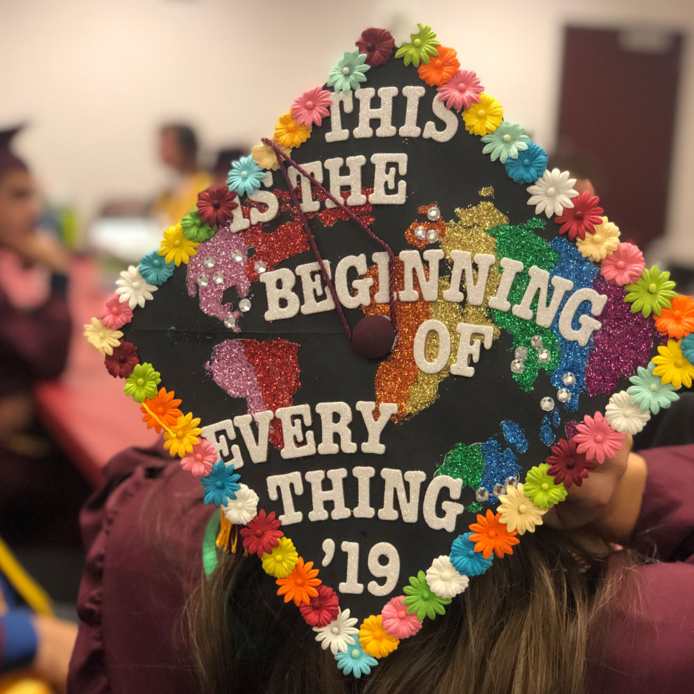 """It starts here"" by Brianna Marie Chavez, industrial engineering."
