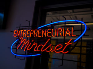 Entrepreneurial mindset sign