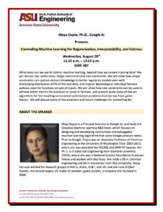 Controlling Machine Learning For Regularization, Interpretability, and Fairness
