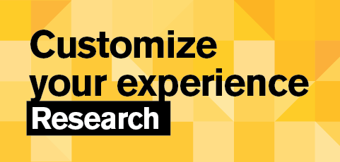 Customize your experience: Start your research career as an undergrad!