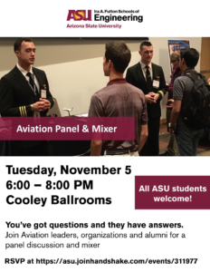 Aviation panel and mixer flyer