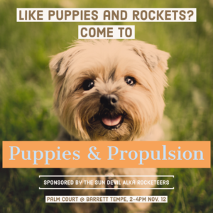 Puppies and Propulsion