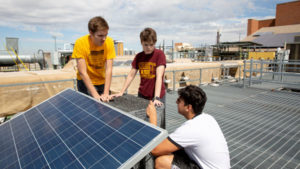 EPICS team solves solar challenges.