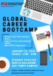 Global Career Bootcamp January 31, 2020