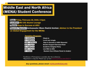 MENA Student Conference