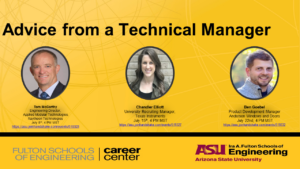 Advice from a Technical Manager July 2020 events