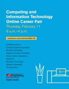 Computing and Information Technology Online Career Fair