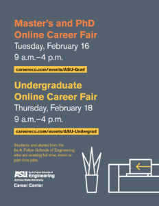 Master's and PhD Online Career Fair