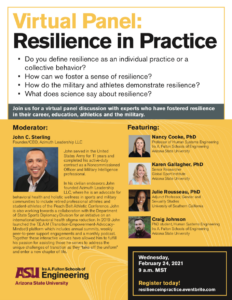 Virtual Panel: Resilience in Practice, February 24
