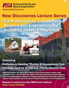 Earth Innovation: Collaborative Science and Engineering for Exploring Desert Ecosystems