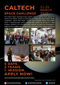 Caltech Space Challenge 2022